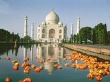 View of the Taj Mahal Photographic Print