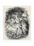 Illustration by J. Tenniel from the Poem 'sir Rupert the Fearless', a Legend of Germany, from… Giclee Print