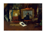 The Inner Studio, Tenth Street, 1882 Giclee Print by William Merritt Chase