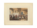The Storming of Seringapatam, May 4 1799, Illustration from 'The Martial Achievements of Great… Giclee Print by William Heath