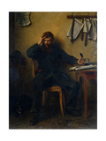 The Disaffected, 1877 Giclee Print by Ludwig Knaus