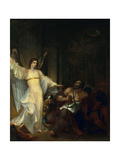 Angel Releasing St. Peter from Prison, C.1814 Giclee Print by Washington Allston