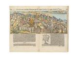 View of Jerusalem, C.1550 Giclee Print by Sebastian Munster