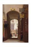 Rupert Court, Wardour Street Giclee Print by Rex Vicat Cole