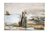 Waiting for the Return of the Fishing Fleets, 1881 Giclee Print by Winslow Homer