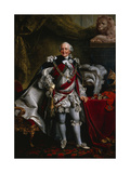 Portrait of Duke Ferdinand of Brunswick Attired as Knight of the Garter, after 1763 Giclee Print by Johann Georg Ziesenis