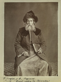 Chief Rabbi of Jerusalem, C.1875 Photographic Print by Felix Bonfils