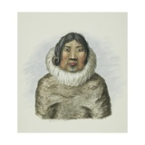 An Old Woman on Morton Sound Giclee Print by Edward Adams
