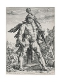 The Great Hercules, 1589 Giclee Print by Hendrik Goltzius