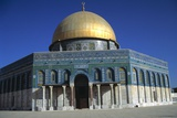 Dome of the Rock, Haram Es-Sharif, East Jerusalem Photographic Print