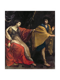 Joseph and Potiphar's Wife, C.1626 Giclee Print by Guido Reni