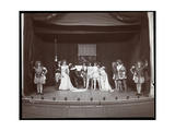 """A Scene from an Amateur Production of """"The Taming of the Shrew"""" Presented at Barnard College, New… Giclee Print by  Byron Company"""
