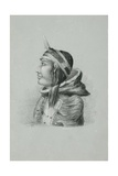 Inuit of Prince Albert's Land in Dancing Cap, Walker Bay, 1851 Giclee Print by Edward Adams