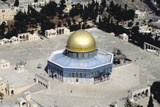 Aerial View of the Dome of the Rock Photographic Print