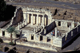 Aerial View of the Capernaum Synagogue Ruins Photographic Print