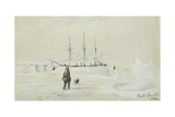Winter Quarters, 1852 Giclee Print by Edward Adams