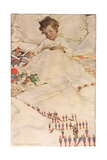 A Child in Bed, from 'A Child's Garden of Verses' by Robert Louis Stevenson, Published 1885 Giclee Print by Jessie Willcox-Smith