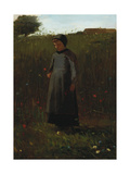 The Flowers of the Field Giclee Print by Winslow Homer