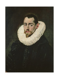 Portrait of a Young Knight Giclee Print by  El Greco