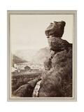 Pulpit Rock, 1870 Giclee Print by Carleton Emmons Watkins