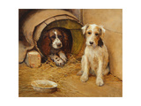 In the Dog House Giclee Print by Samuel Fulton