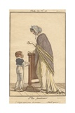 Fashion for Women and Children, from 'Journal Des Dames Et Des Modes', 1800 Giclee Print by Philibert Louis Debucourt