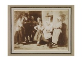 Family of John Wilson, a Newhaven Pilot, 1844 Giclee Print by  David Octavius Hill and Robert Adamson
