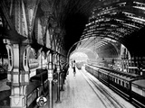 Paddington Station, London, 1890 Photographic Print