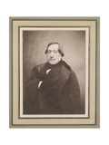 Gioacchino Rossini, 1856 Giclée-trykk av  Nadar