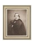 Gioacchino Rossini, 1856 Gicléedruk van  Nadar
