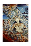 A Decorated Boat in Southern Thailand Giclee Print