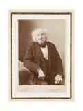 Michel-Eugene Chevreul, 1886 Giclée-trykk av  Nadar