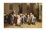 Back to School Giclee Print by Henri Jules Jean Geoffroy