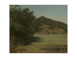 Mount Tamalpais from Greenbrae, Marin County Giclee Print by Theodore Wores