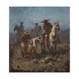 Search Party, C.1894 Giclee Print by Ernest Narjot