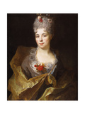 Portrait of a Lady Giclee Print by Nicolas de Largilliere