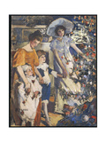 The Christmas Tree Giclee Print by Elizabeth Adela Stanhope Forbes