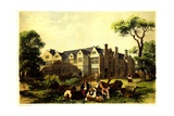 Sawston Hall, Cambridgeshire, 1848 Giclee Print by James Dafforne