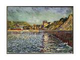 Le Port-En-Bessin (Calvados) C.1884 Gicléetryck av Paul Signac