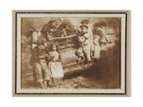 Fisher Laddies, June 1845 Giclee Print by  David Octavius Hill and Robert Adamson