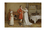 I Wish You Luck Giclee Print by George Goodwin Kilburne