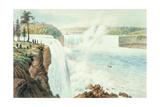 Niagra Falls Giclee Print by Augustus Kollner