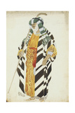 Costume Design for a Dancer from 'Suite Arabe' Giclee Print by Leon Bakst