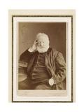 Victor Hugo, 1884 Gicléedruk van  Nadar