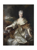 Portrait of the Countess of Noirmont as Diana Giclee Print by Nicolas de Largilliere