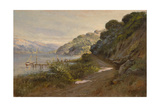 Bolinas Bay and the Summit Giclee Print by Manuel Valencia