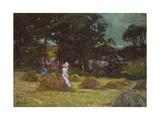Haymaking Giclee Print by Elizabeth Adela Stanhope Forbes