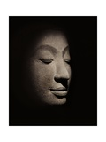 Buddha Head from the Early Ayutthaya Period Giclee Print