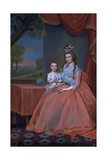 Mrs. Elijah Boardman and Her Son, William Whiting Boardman, C.1796 Giclee Print by Ralph Earl
