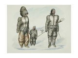 Inuit of Prince Albert's Land Giclee Print by Edward Adams